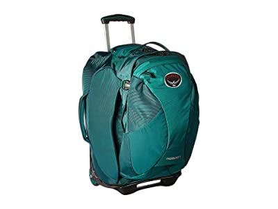 Osprey Meridian 22/60L (Rainforest Green) Carry on Luggage