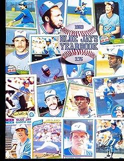1983 Toronto Blue Jays Baseball Yearbook bxb2