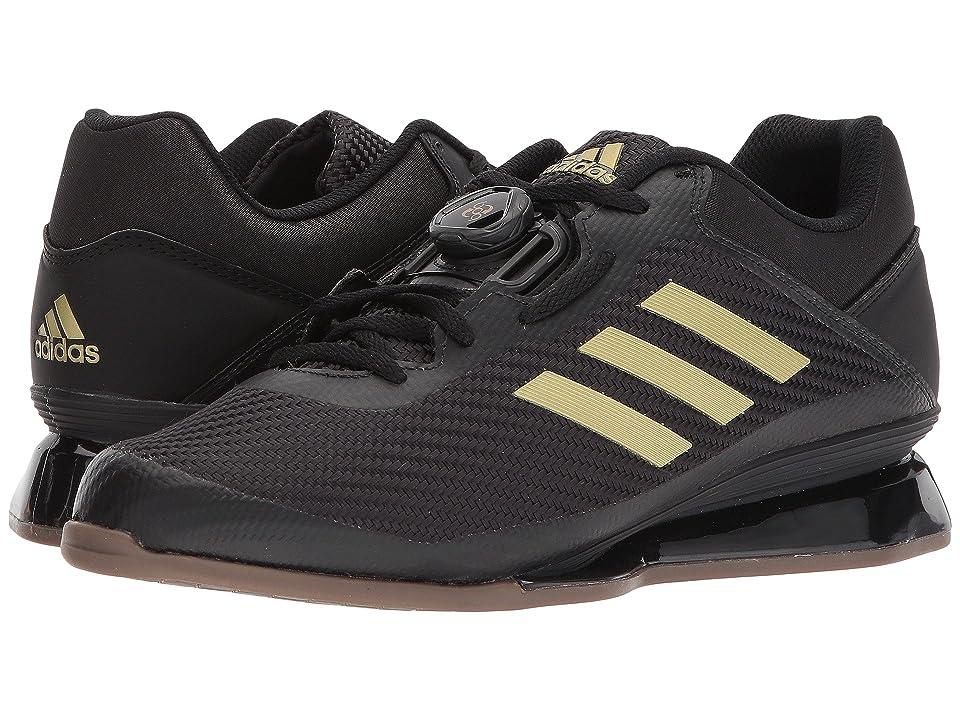 adidas Leistung 16 II (Core Black/Matte Gold/Core Black) Men