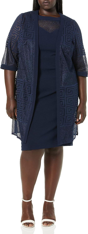 Maya Atlanta Mall Brooke Women's Nippon regular agency Lace Dress Duster Jacket