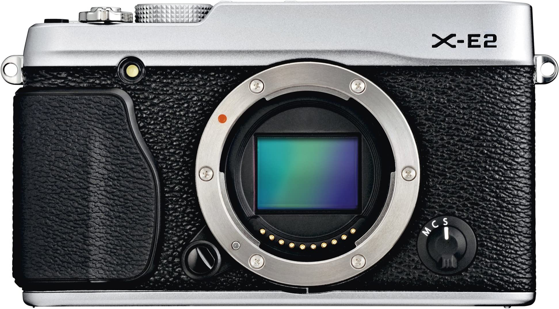 Fujifilm X-E2 16.3 MP Mirrorless Digital Camera with 3.0-Inch LCD - Body Only (Silver)