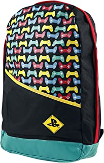 Mochila PlayStation - Backpack with Colored Controllers Print