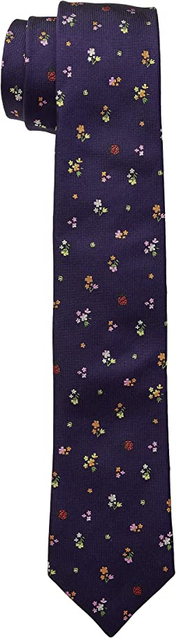 Narrow Flower Tie