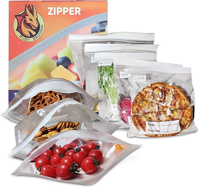 192 opinioni per Sacchetti per Alimenti Zipper 30 sacchetti Grande 5 L in plastica adatti per