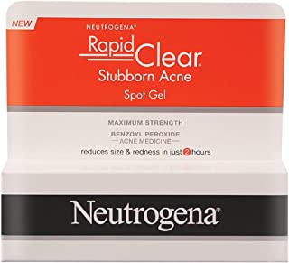 Neutrogena Rapid Clear Stubborn Acne Spot Gel Pack of 4 Multi
