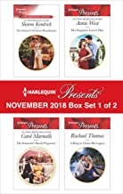 Harlequin Presents November 2018 - Box Set 1 of 2: The Italian's Christmas HousekeeperThe Innocent's Shock PregnancyHer Forgotten Lover's HeirA Ring to Claim His Legacy