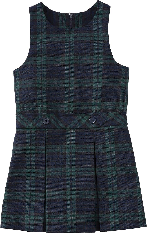 Classroom School Uniform Drop Waist Girls Plus Dress 5P4943, 7h, Navy
