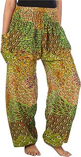 LOFBAZ Harem Pants for Women Yoga Boho Hippie Clothing Palazzo Bohemian Beach Maternity Pajama Plus Size Gypsy Clothes Pea...