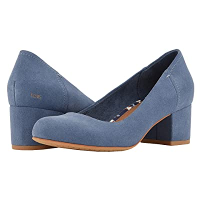 TOMS Beverly (Infiinity Blue Suede) Women