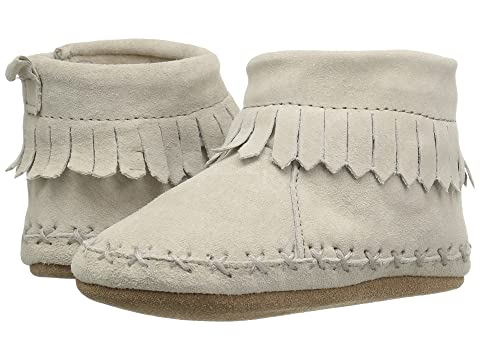 fe60f5f379cd Robeez Cozy Ankle Moccasin Soft Sole (Infant Toddler) at Zappos.com