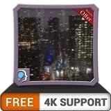 nuit pluvieuse gratuite HD - décorez votre écran de télévision avec une belle scène pluvieuse en direct sur votre téléviseur HDR 4K, votre téléviseur 8K et vos appareils anti-feu comme fond d'écran, d