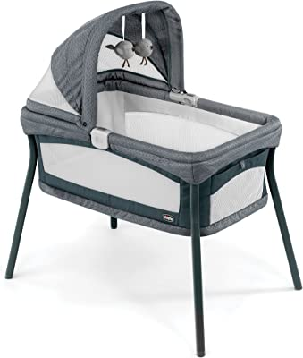 Amazon.com : HALO Bassinest Twin Sleeper Double Bassinet ...