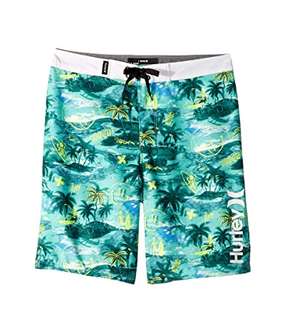 Hurley Kids Doodle Boardshorts (Big Kids) (Tropical Twist) Boy