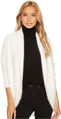 Sheryl Fuzzy Knit Cocoon Sweater