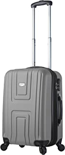 Viaggi Mia Viaggi Italy Ferrara Hardside Spinner Carry-on, Silver (Silver) - V1017-20IN-SLVL