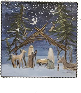 The Round Top Collection - Gallery Nativity Color - Metal & Wood