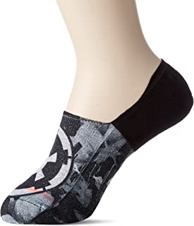 Stance Socks, Stance Star Wars Imperio Cielo No Show Calcetines Negro (RU 2-5)