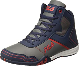 Fila Men's Velocity NVY/Rd Sneakers-8 UK (42 EU) (9 US) (11005589)