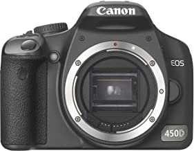 Canon EOS 450D 450-D 450 D DSLR Camera (Body Without Lens)