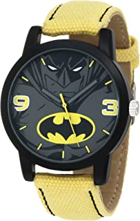 Batman Kids' BAT9043 Batman Watch with Canvas Band