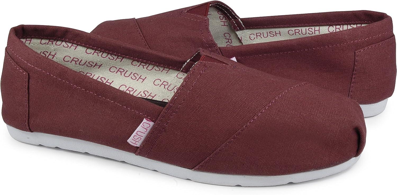 Crush Scrubs Canvas Anti-Slip Anti-Microbial Memory Foam shoes