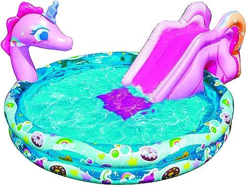 "lowest Banzai Spray 'N Splash high quality 60"" wholesale Unicorn Pool outlet sale"