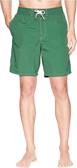 Lacoste Nylon Rear Pocket Crock Long Shorts