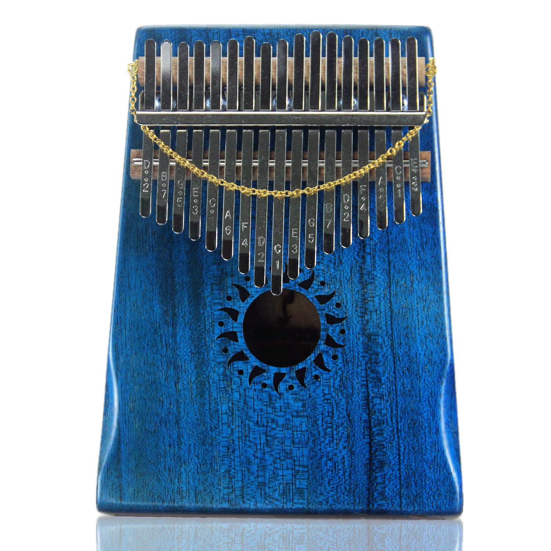 10 Key Kalimba Finger Thumb Klavier Mbira Musikalische Percussion Rot