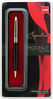 Cello Signature Moonlit Ball Pen - Blue   Premium metal pens  smooth writing experience   Ideal for gifting occasions