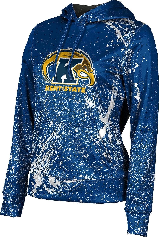 ProSphere Kent State University Girls' Pullover Hoodie, School Spirit Sweatshirt (Splatter)