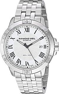 ساعة ريموند ويل للرجال 8160-ST-00300 تانغو تناظرية العرض كوارتز فضية