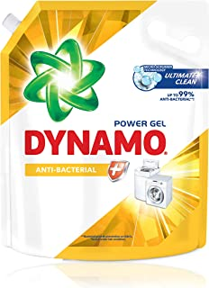DYNAMO Power Gel Laundry Detergent Refill, Anti-Bacterial, 3kg,