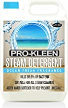 Pro Kleen 5 litres Steam Detergent Ocean Fresh Fragrance for Steam Mops + Built in Water Softener … (5 Litre Ocean Steam)