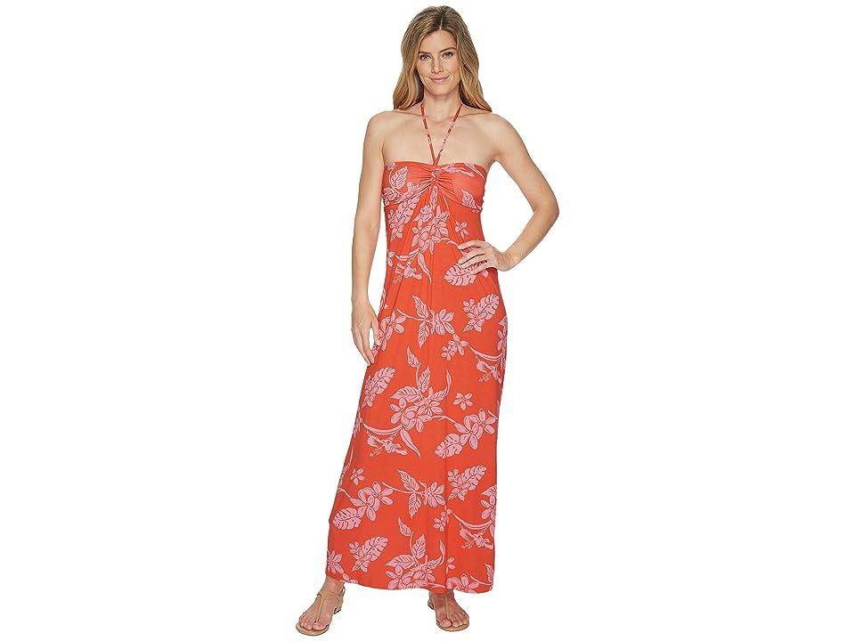 Tommy Bahama Hibiscus Hiatus Maxi Dress (Cabana Pink) Women