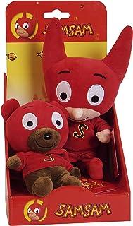 Sam Sam–940314–Plush Teddy Bear–24cm and 16cm Sam Teddy Bear