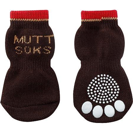 犬用靴下 MUTTSOKS (マットソックス) XXS 4個入り [並行輸入品]