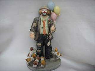 Flambro Clown Collection Porcelain Vintage Figurine 5