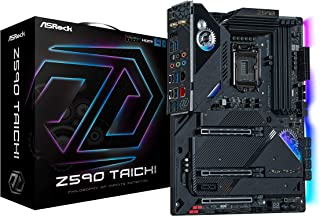 ASRock Intel 第10・11世代CPU(LGA1200)対応 Z590 チップセット搭載 ATX マザーボード 【国内正規代理店品】 Z590 Taichi