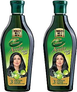 Dabur Amla Hair Oil for Long, Healthy and Strong Hair - 450 ml (pack of 2)