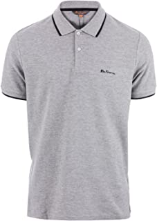 Ben Sherman Men's Tipped Pique Polo Shirt