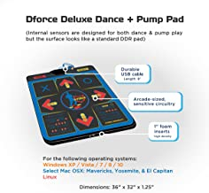 d force deluxe dance pad