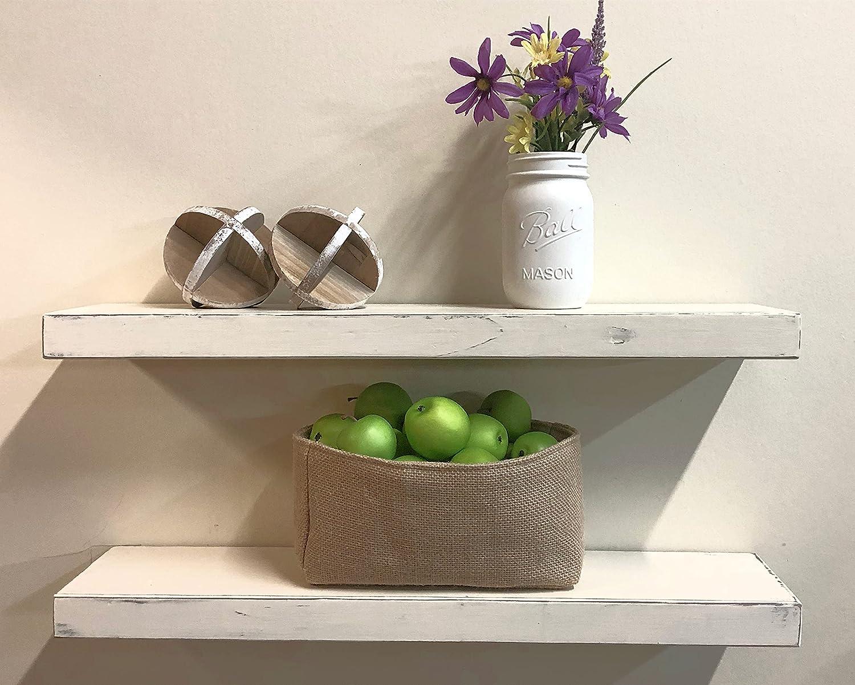 SDI Designs Floating Shelves Natural Farmhouse Rustic Shelf Set Courier shipping Dallas Mall free