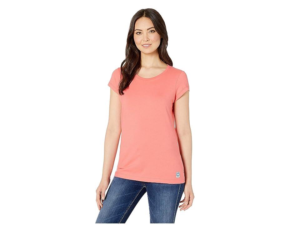 Fjallraven Greenland T-Shirt (Peach Pink) Women