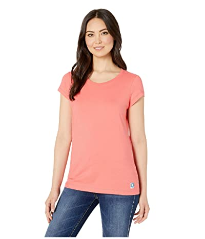 Fjallraven Greenland T-Shirt (Peach Pink) Women