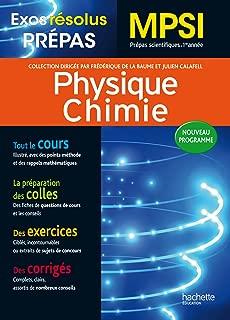 Physique Chimie MPSI : Prépas scientifiques 1re année