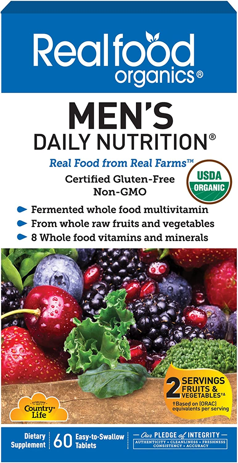 70% OFF Outlet Country Life Phoenix Mall Realfood Organics - Men's Nutrition Multivita Daily