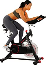 Sunny Health & Fitness Magnetic Belt Drive Indoor Cycling Bike with 44 lb Flywheel..