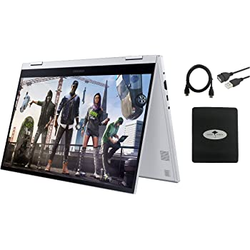 "2020 Newest Samsung Galaxy Book Flex Alpha 13.3"" 2in1 FHD QLED Touchscreen Laptop Business Student, 10th Gne Intel Core i5-10210U (Beat i7-8665U), 8GB RAM, 256GB SSD, Fingerprint Alexa, GM Accessories"