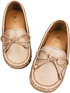 Toddler Girls Dress Shoes - Casual Slip On Loafers - Kids...
