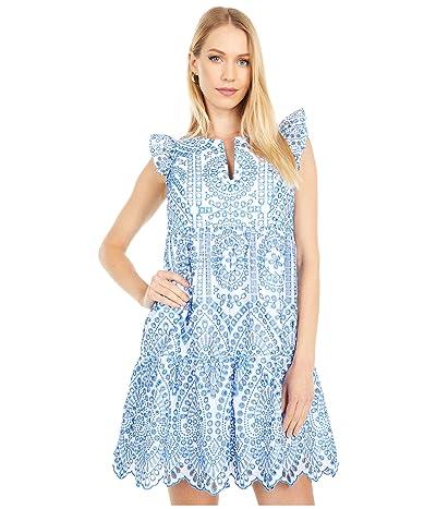 Lilly Pulitzer Keila Dress (Bluefin Bluefin Moroccan Eyelet) Women